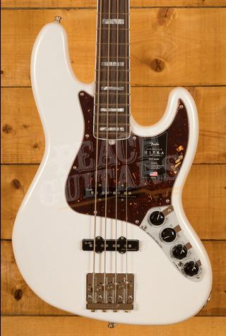 Fender American Ultra Jazz Bass Arctic Pearl