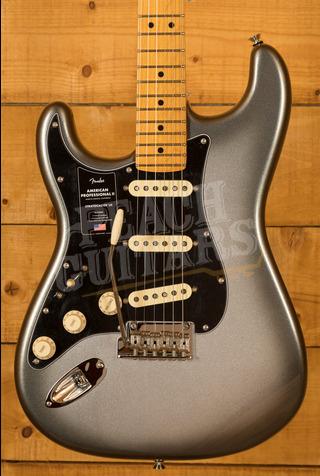 Fender American Professional II Stratocaster Left-Hand Mercury Maple