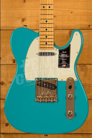 Fender American Professional II Telecaster Miami Blue Maple