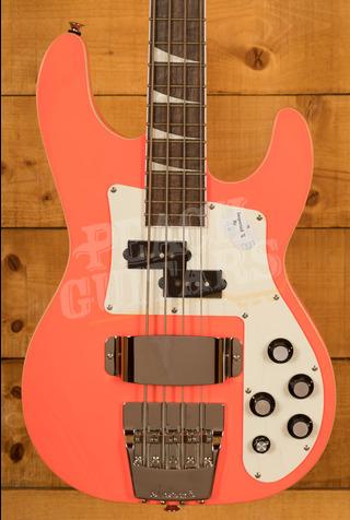Jackson X Series Concert Bass CBXNT DX IV, Laurel Fingerboard, Rocket Red
