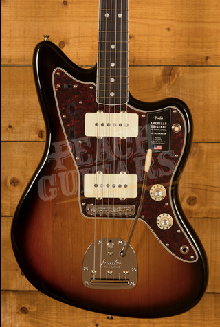 Fender American Original '60s Jazzmaster - Rosewood Board, 3-Colour Sunburst