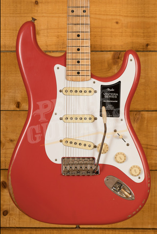 Fender Vintera Road Worn 50's Strat Fiesta Red