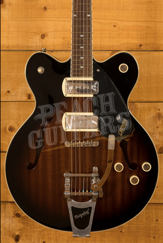 Gretsch G2622T-P90 Streamliner Center Block Double-Cut P90 with Bigsby Brownstone