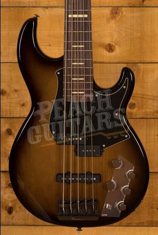 Yamaha BB 735A 5-String Bass Dark Coffee Sunburst