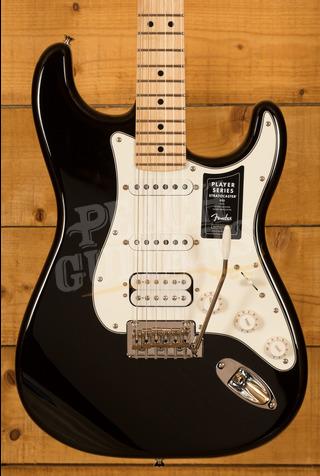 Fender Player Series Strat HSS Maple Neck Black