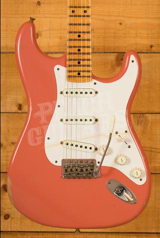 Fender Custom Shop LTD Tomatillo Strat III Super Faded Aged Tahitian Coral