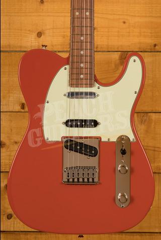 Fender Deluxe Nashville Tele Pau Ferro Fiesta Red
