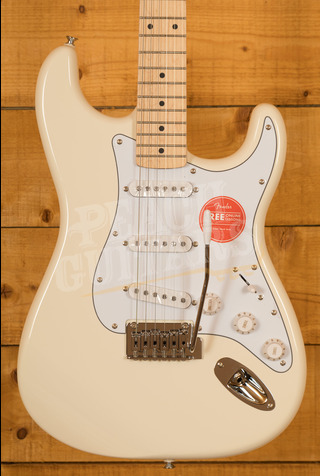 Squier Affinity Stratocaster Maple Olympic White