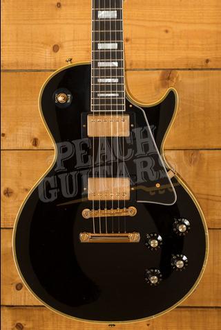 Gibson Custom 68 Les Paul Custom Ebony Murphy Lab Lightly Aged