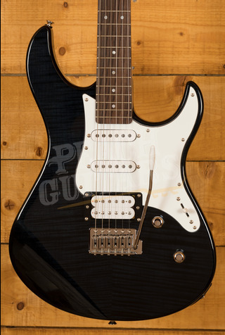Yamaha Pacifica 212V Flamed Maple Trans Black