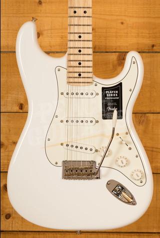 Fender Player Series Strat Maple Neck Polar White *B Stock*