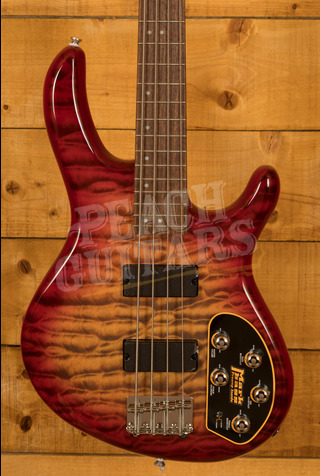 Cort Action Bass Deluxe Plus Cherry Red Sunburst