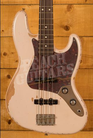 Fender Flea Signature Jazz Bass Roadworn Shell Pink
