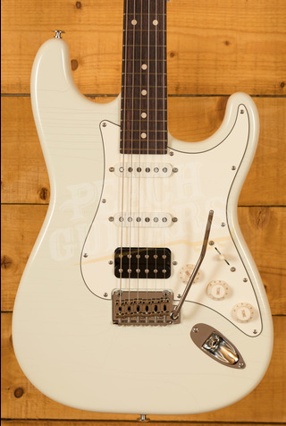 Suhr Classic S Antique Olympic White one-off with Roasted Maple Neck RW