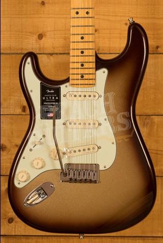 Fender American Ultra Strat LH Maple Mocha Burst