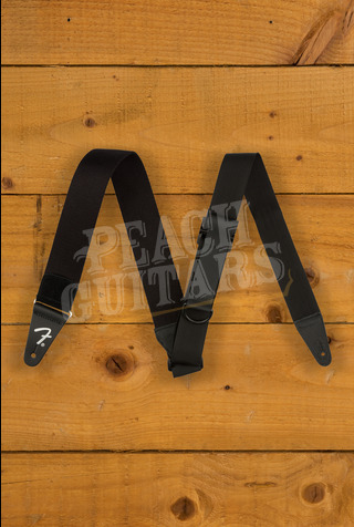 Fender Right Height Strap - Black Rayon
