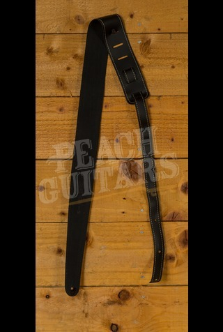 C F Martin Strap - Leather Slim Black