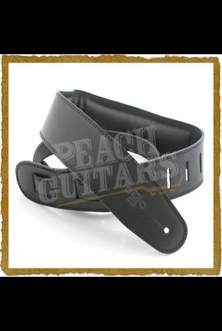 DSL GEG25-15-1 Genuine Leather 2.5 inch -Black/Black-