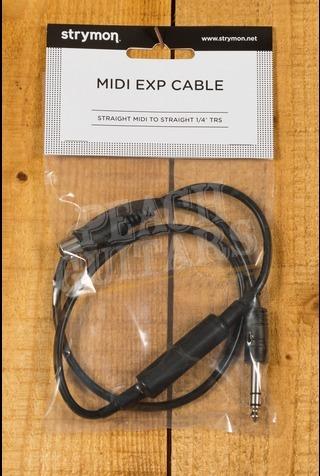 "Strymon MIDI-EXP Cable Straight MIDI - Straight 1/4"" TRS"