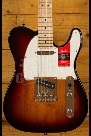 Fender American Pro Tele 3-Tone Sunburst Maple Neck