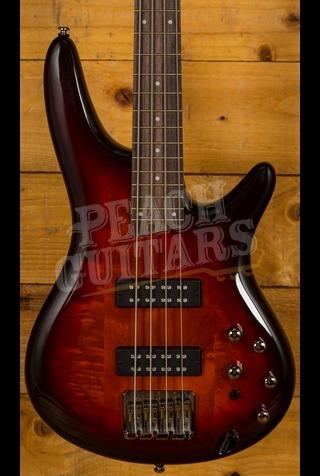 Ibanez SR370E-AWB 4 String Bass Aged Whisky Burst