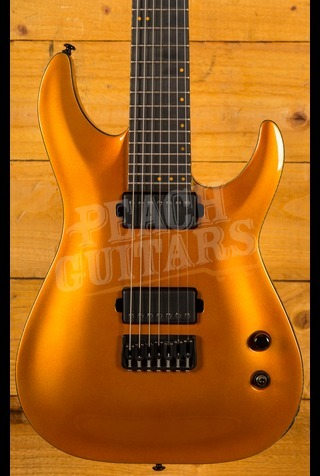 Schecter Keith Merrow KM-7 Lambo Orange