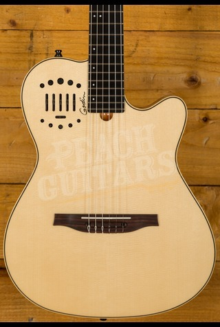 Godin Multiac Nylon Duet Ambiance HG with Bag