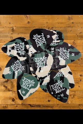 Ernie Ball Camouflage Picks x 12