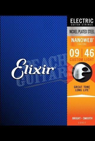 Elixir Electric Nickel Nanoweb Strings