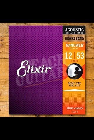 Elixir Acoustic Nanoweb Phosphor Bronze 12-String Light 10-47