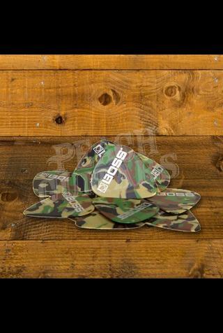 BOSS Celluloid Pick 12 Pack - Camo