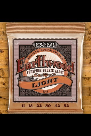 Ernie Ball Earthwood Phosphor Bronze 11-52