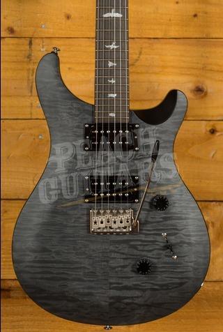 PRS SE Custom 24 Quilt Satin Ltd Grey Black