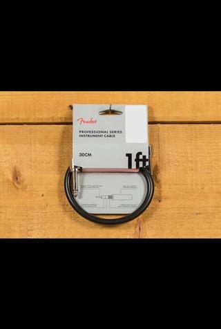 Fender Pro 1' Instrument Cable Black