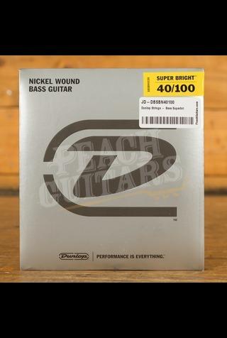 Dunlop Strings - Bass Superbright Nickel - Light 40-100