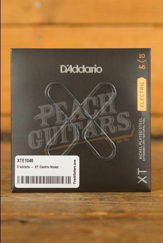 D'addario - XT Electric Nickel Plated Steel, Regular Light, 10-46