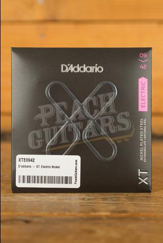 D'addario - XT Electric Nickel Plated Steel, Super Light, 09-42