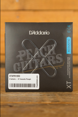D'addario - XT Acoustic Phosphor Bronze, Light, 12-53