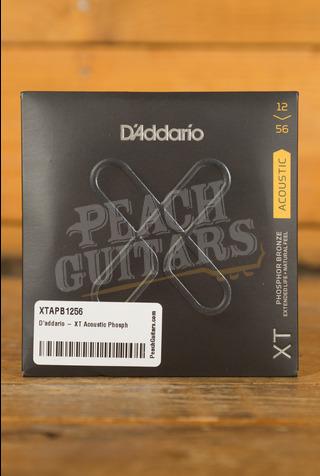 D'addario - XT Acoustic Phosphor Bronze, Light Top/Medium Bottom, 12-56