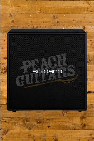 "Soldano 412 Straight Classic 4x12"" Straight Cabinet - Celestion Vintage 30s"