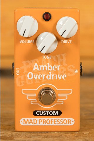 Mad Professor Amber Overdrive Custom (Limited Edition)