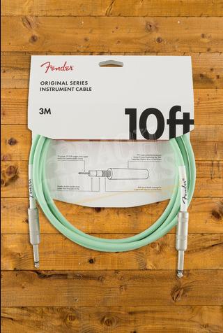 Fender Original Series Instrument Cable, 10', Surf Green