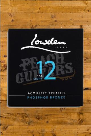 Lowden Light 12-53 acoustic guitar strings