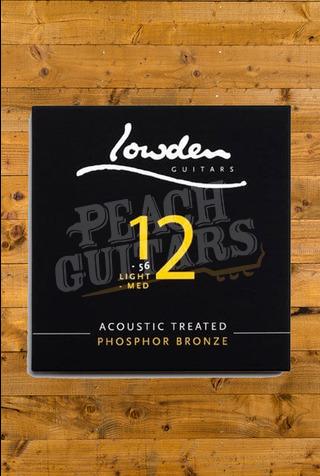 Lowden Light Medium 12-56 acoustic guitar strings