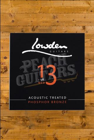 Lowden Medium 13-56 acoustic guitar strings