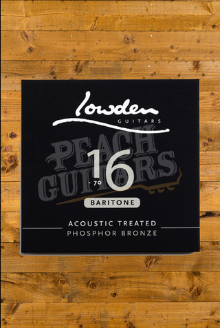 Lowden Baritone 16-70 acoustic guitar strings