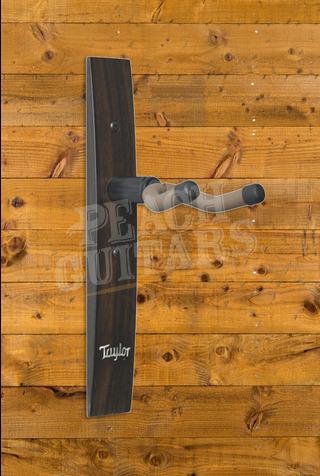 Taylor Guitar Hanger,Ebony,Acrylic Taylor Logo Inlay
