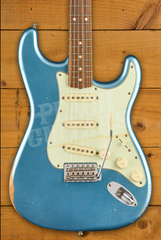 Fender Vintera Road Worn 60's Strat Lake Placid Blue Pau Ferro