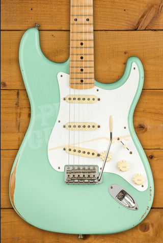 Fender Vintera Road Worn 50's Strat Surf Green