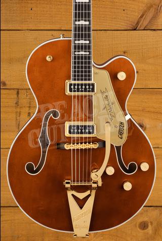 Gretsch G6120TG-DS Players Edition Nashville Hollowbody Round-Up Orange